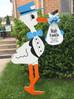 The Stork Stop of Northern Virginia~ Burke, VA~Baby Boy Stork NOVA
