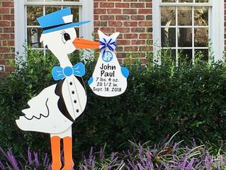 The Stork Stop of Northern Virginia ~ Alexandria, VA ~ Stork Sign Rental NOVA