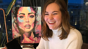 Meet Cate!  Blog contributor and studio super-girl.