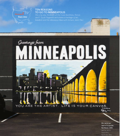 Minneapolis mural project.