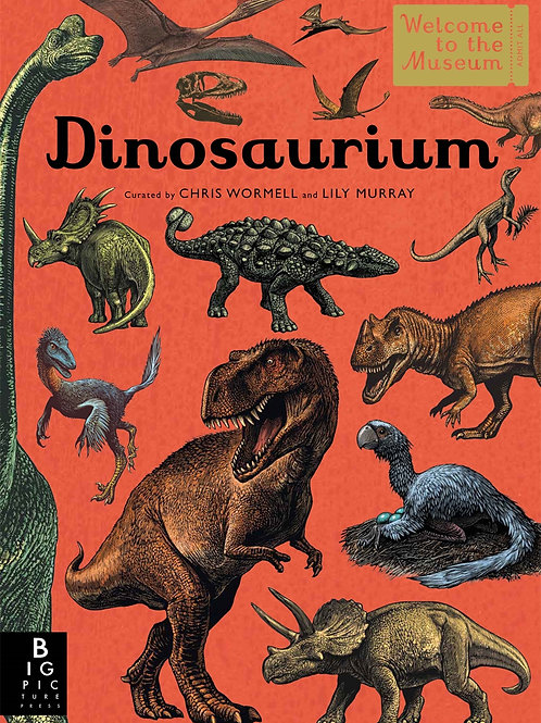 Dinosaurium Hardback Book