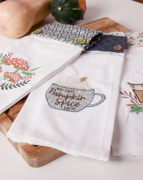 Don't Fall Kitchen Towel.jpg