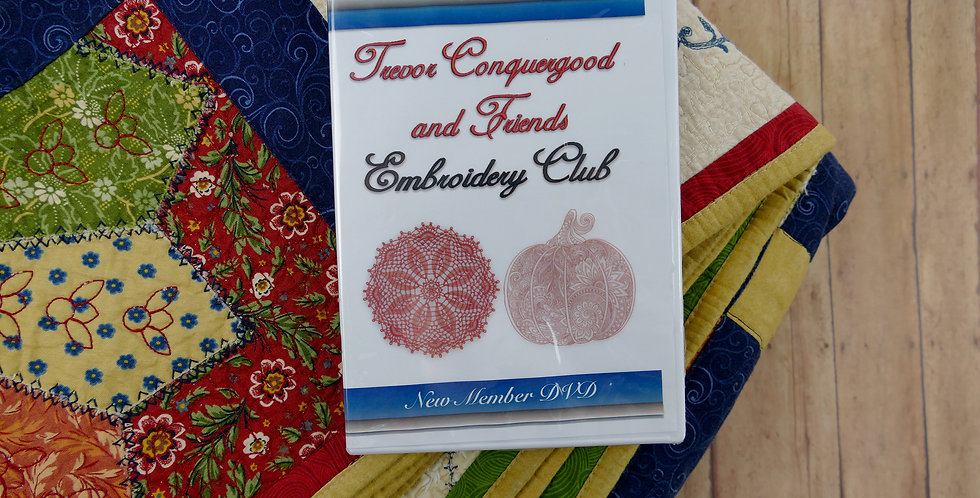 Embroidery Club 101 with Trevor Conquergood