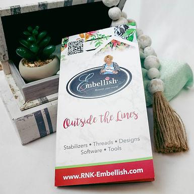 Embellish Sample Packet