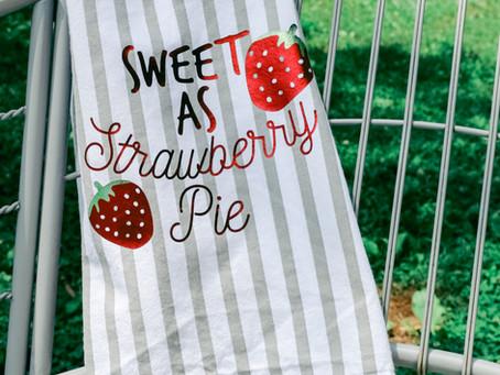 Sweet As Strawberry Pie