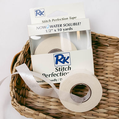 RNK Stitch Perfection Tape 1/2in x 10 yds - Water Soluble