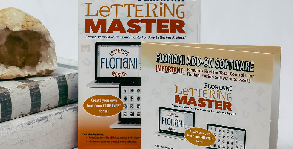 Floriani Lettering Master Software ADD-ON
