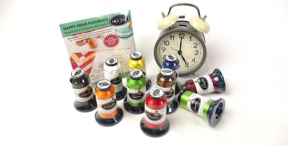 Happy Hour Placemats Companion Set