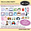 Thumbnail: Tag Along Party Embroidery CD with SVG Files