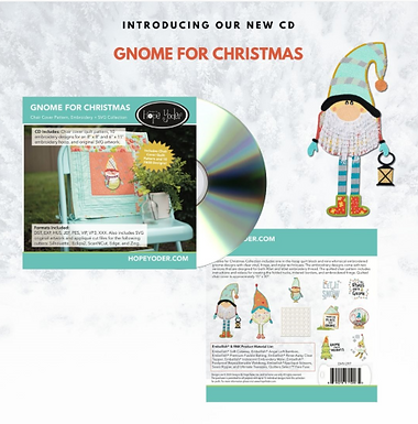 Gnome For Christmas Project CD
