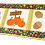 Thumbnail: Quilted Fall Table Runner Embroidery CD with SVG Files