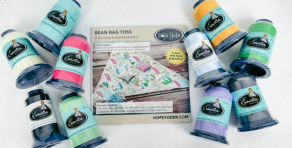 Bean Bag Toss Companion Thread Set