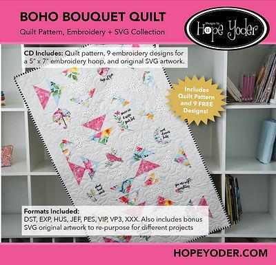 BOHO Bouquet Quilt