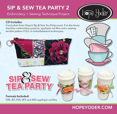 Sip & Sew Tea Party VOL 2