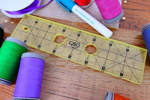 Precision Machine Quilting Ruler