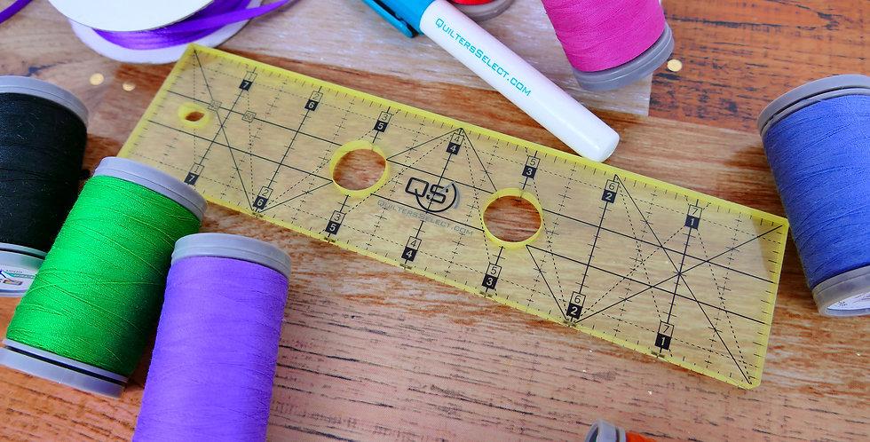 Precision Machine Quilting Ruler
