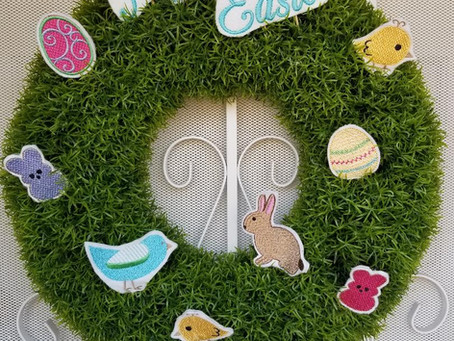 Easter Wreath Picks