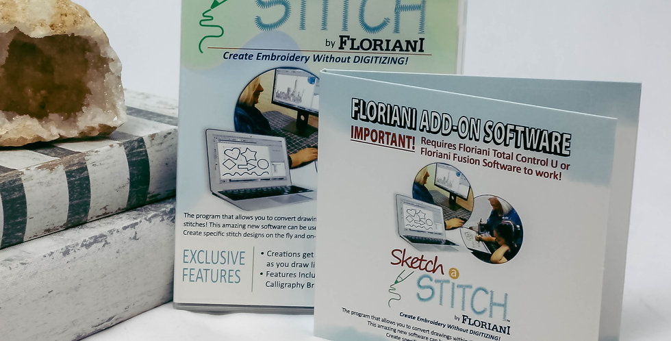 Floriani Sketch A Stitch Software ADD-ON