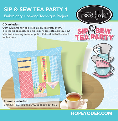 Sip & Sew Tea Party VOL 1