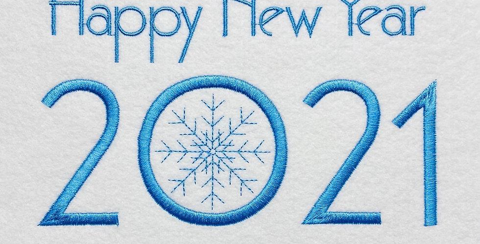 New year's Free design 2021