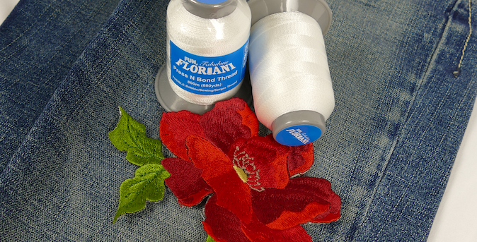 Floriani Press and Bond Fusible thread