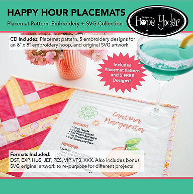 Happy Hour Placemat