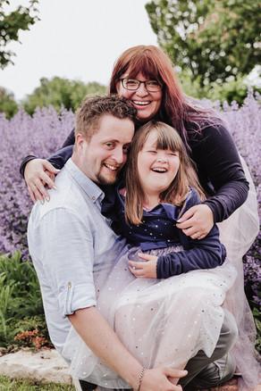 Ein Traum in Violett und ein Fotolächeln