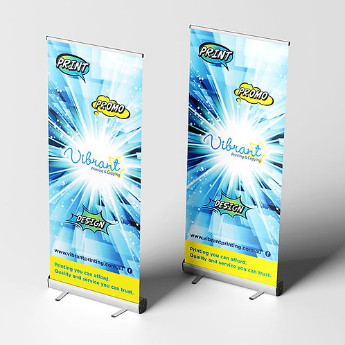Pull-Up Banners: Standard Silver Base