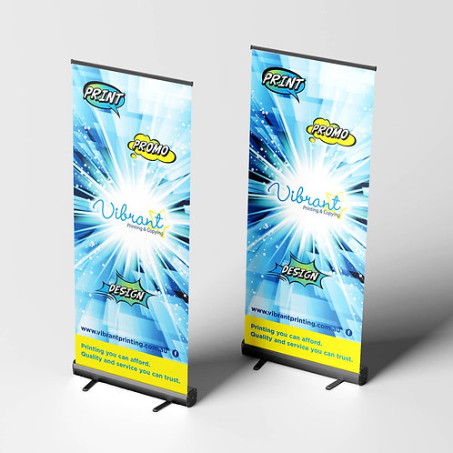 Pull-Up Banners: Premium Black Base