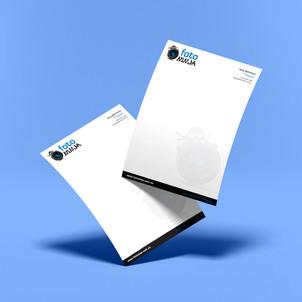 Vibrant Printing Letterheads