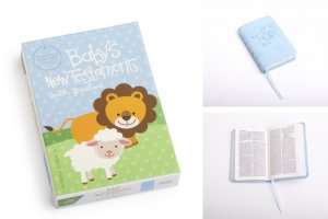 BABY'S NEW TESTAMENT WITH PSALMS CSB VERSION (BLUE)