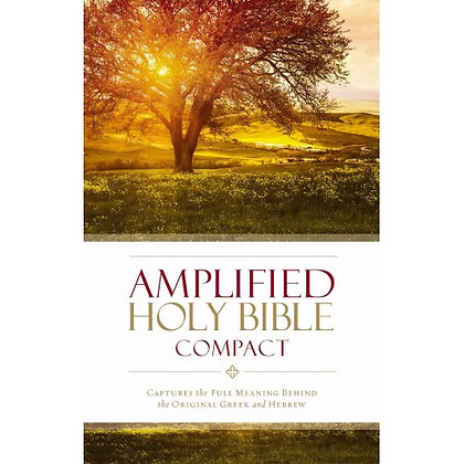 AMPLIFIED HOLY BIBLE, COMPACT ZONDERVAN