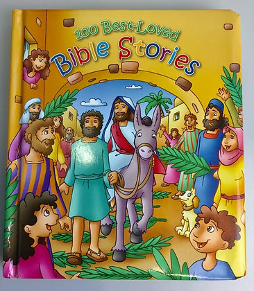 100 BEST-LOVED BIBLE STORIES BOOK