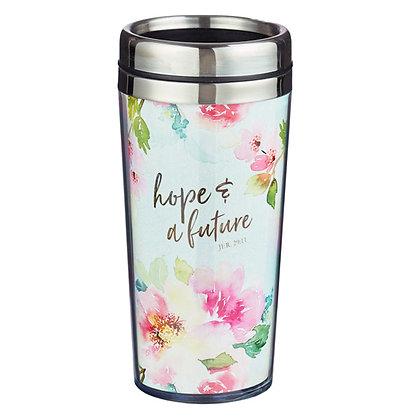 Hope and Future Travel Mug
