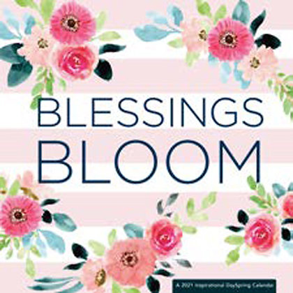 Blessings Bloom Wall Calendar 2021