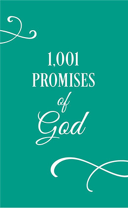 1001 Promises of God  Compiled by Barbour Staff