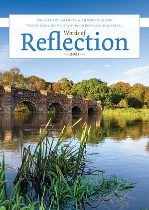 Words of Reflection Calendar 2021 Paperback