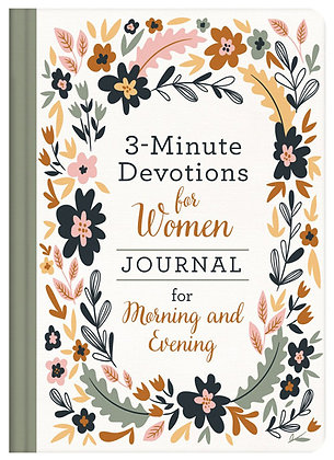 3-Minute Devotions For Women Journal: Morning and Evening