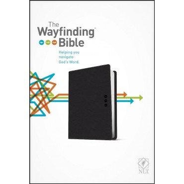 NLT Wayfinding Bible Grey Imitation Leather by Jeannette Taylor Doris Rikkers