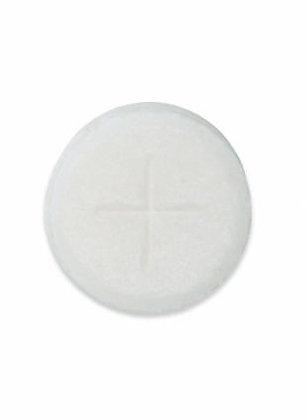 Priests Altar Bread Sealed Edge Single Cross White Pack of 500