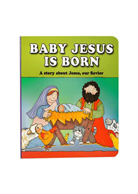 Baby Jesus Is Born Board Book byCarolyn Larsen  Price and Purchase