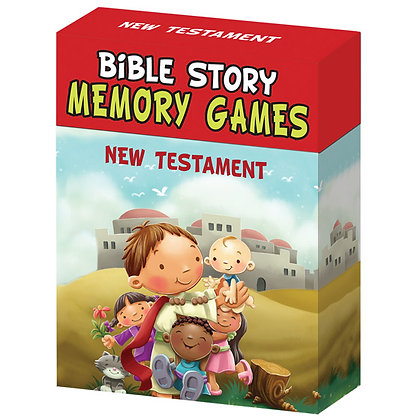 Bible Story Memory Games: Old & New