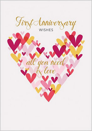 First Wed Anniversary