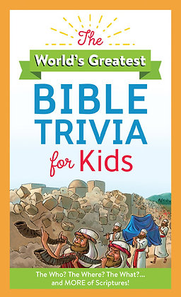 The World's Greatest Bible Trivia/Kids