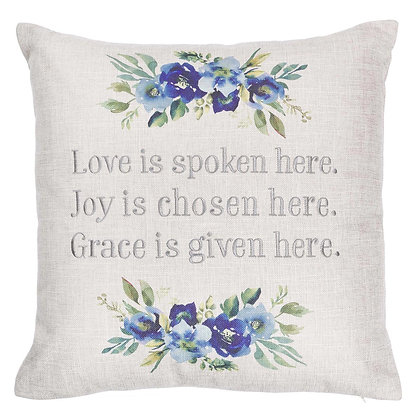 Share the values you hold true with theLove Joy Grace 9-inch Pie Plate. Living
