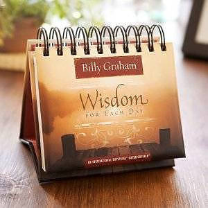 Perpetual Calendar: Billy Graham - Wisdom for Each Day - 365 Day