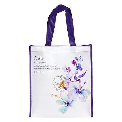 Faith Tote Bag – Hebrews 11:1