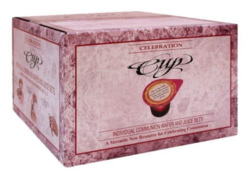 Celebration Cup Wafer and Juice Set - 500 Box