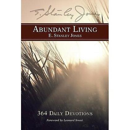 ABUNDANT LIVING JONES. E. STANLE