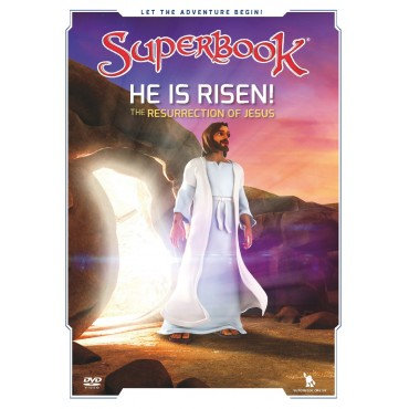 Superbook: He Is Risen! DVD The Resurrection of Jesus